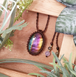 *Rainbow Ombre* Labradorite Macrame Necklace