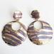 gold & purple pierce[p-383]