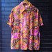 70's Psychedelic pattern short sleeve shirts 70年代サイケデリック柄シャツ