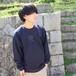 刺繍ロゴスウェット【 NAVY 】