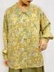 (TOYO) flower pattern l/s shirt