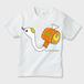 【送料無料】しろへびこばん かわいいキッズTシャツ ※お肌にやさしいガーメントインクジェット印刷