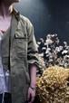 NOWOS / military jacket (KHAKI)