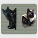 畳猫帯なし手帳型スマホケース M For Android