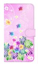 【鏡付き Lサイズ】Sweet Pink Paradise スィート・ピンク・パラダイス 手帳型スマホケース