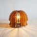 「はりねずみ」木製フロアランプ 照明 インテリア