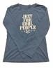 【JTB】NEW JUST FOR ロングスリーブTシャツ【スカイグレー】イタリアンウェア【送料無料】《M&W》