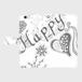 Happy 手帳型スマホケース iPhone6Plus/6sPlus