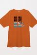 NOIKA NOSABA Tシャツ(オレンジ)
