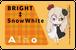 【ICカードステッカー2枚組】ブライト/ノワール&ブラン【送料込み】