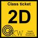 YKW 2D Class ticket