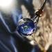 きらめくガラスの宇宙ペンダント0505/【cosmic tale】[わけあり品]