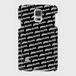 (通販限定)【送料無料】Galaxy S5(SC-04F/SCL23)_スマホケース ストライプ_ブラック