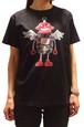 (SALE!)Tシャツ ロボフロント ブラック