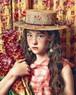 バラ色の帽子/ 優しい花
