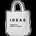 IDEAS/タイポグラフィトートバッグ 305-WH ホワイト