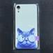 【保護猫募金商品】ゴーグルねこスマホケース iPhoneXR・iPhoneX(iPhoneXS兼用)ケース 猫 即納