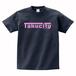 Takucity Tシャツ(ネイビー×ピンク)