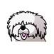 オールドイングリッシュシープドッグ(大)     犬ステッカー