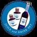 有機ブルーベリージュース100%果汁(無糖)[2本]/ ドリンク50%[1本]セット