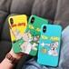 iPhoneケース かわいい アニメ 韓国 人気 キャラクター
