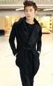 wt1029チェスターコート ロング メンズ レディース ユニセックス 男女兼用トレンチコート ジャケット ツイード 黑