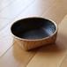 竹かご(白ゴザメ炭斗)/二代 岩尾豊南作