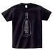 Tシャツ「ラブバブル / Love Bubbles」黒
