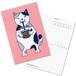 【ポストカード】ネコおっさん アイスコーヒー