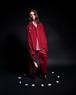 【SALE】LCDD ウールシャツジャケット Burgundy