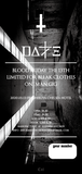 """DALLE / 黒服限定ONEMAN GIG ペアチケット [ 3月13日(fri) """"BLOOD FRIDAY THE 13TH"""" picture ticket ] at 渋谷Chelsea hotel"""