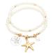 STARFISH Pearl Bracelet (PB0333 WGCRM)