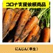 【1kg当たり破格の150円】にんじん(早生植え)3.5kg(WEBのみ30%割引:在庫限り)