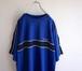 1990's [CHAPS RALPH LAUREN] ラグランスリーブTシャツ ブルー 表記(L) チャップス ラルフローレン