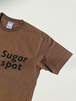 バナナカラーTシャツ【ブラウン × Sugar spot】