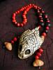 亀の頭の骨 アマゾンの動物 シピボ族