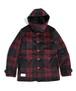 "VIRGOwearworks / ヴァルゴウエアワークス | "" CHECK WOOL HOODIE COAT "" - Red Check"