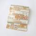 1872 新品◆当店仕立て◆藤原織物謹製◆袋帯(白)