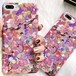 iPhoneケース 人気 韓国 流行 ピンク キュート 夏 デザイン