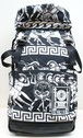 KTZ WAR PRINT BIG BACKPACK ウォー プリント ビッグ バックパック / BLACK-WHITE 50%OFF