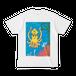 【グッズ】送料込[色:ホワイト]「だべイカ」Tシャツ