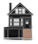 "PSA PRESS""THE BLACK HOUSE ENAMEL PIN"""