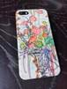 zhs0007-amaranthus側表面印刷スマホケース iPhone5/5sツヤ有り(コート)