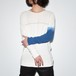 Motion Cut L/S〈Lost Lefty・White × Blue〉