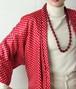 Bordeaux costume necklace
