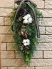 ガーランド風クリスマス壁飾りコットン