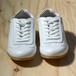 カウレザースニーカー / WHITE / 38(約24.5cm)
