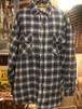 80s USA キルティングネルシャツ ジャケット アメリカ チェック