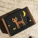 小さな猫の木箱 (夜の散歩)