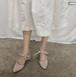 レディース パンプス 春夏 2デザイン アンクルストラップ スリングバック かかとあり リボン チャンキーヒール ポインテッドトゥ クリーミーホワイト レッド 黒 ブラック スウェード 大人 入園式 入学式 卒業式 結婚式 美脚 脱げにくい 韓国